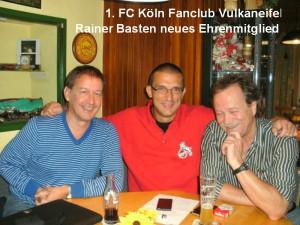 Das neue Ehrenmitglied Rainer Basten